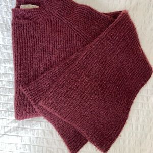 Maroon Sweater with Bell Sleeves size small